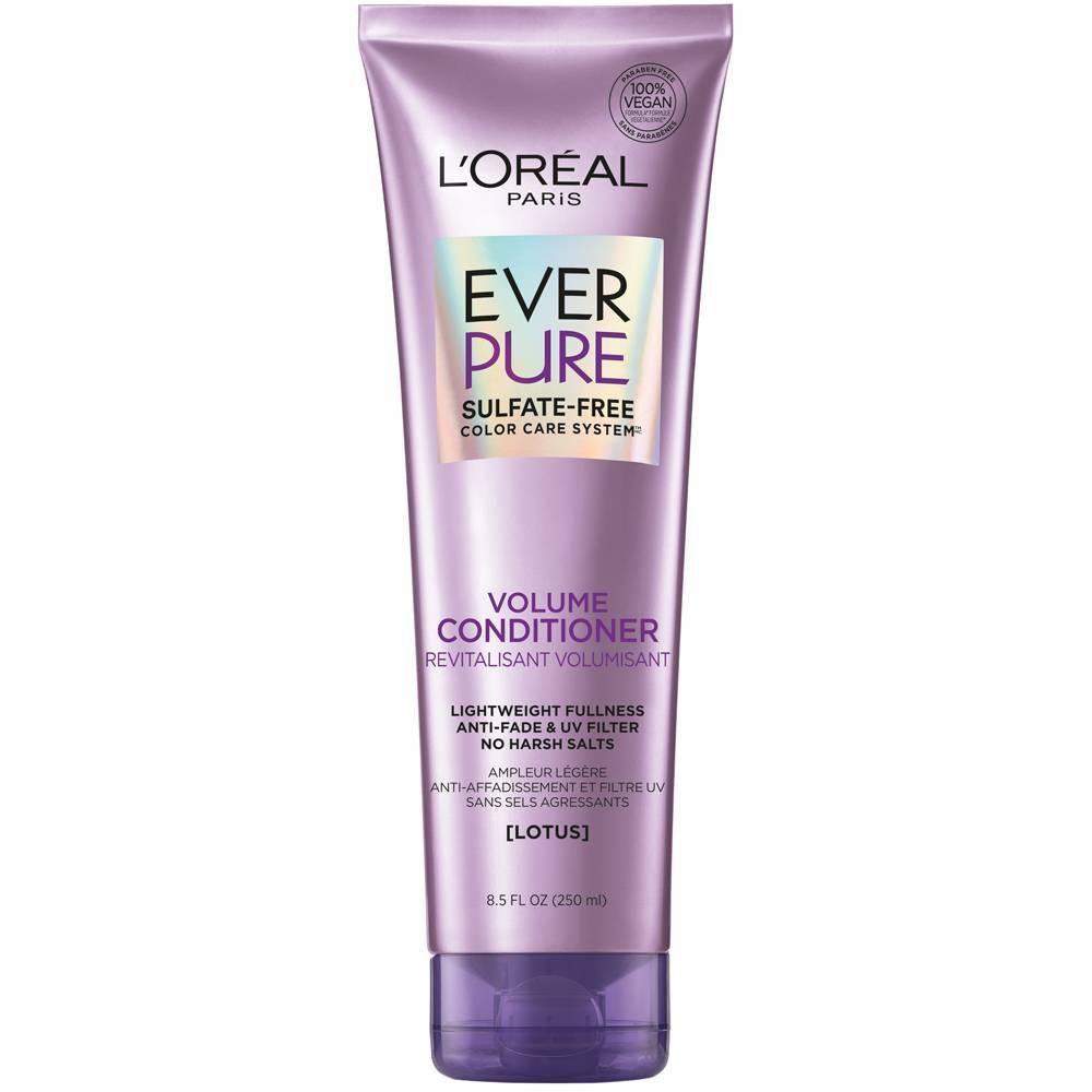 L Oreal Paris Everpure Sulfate Free Volume Conditioner 8 5 Fl Oz