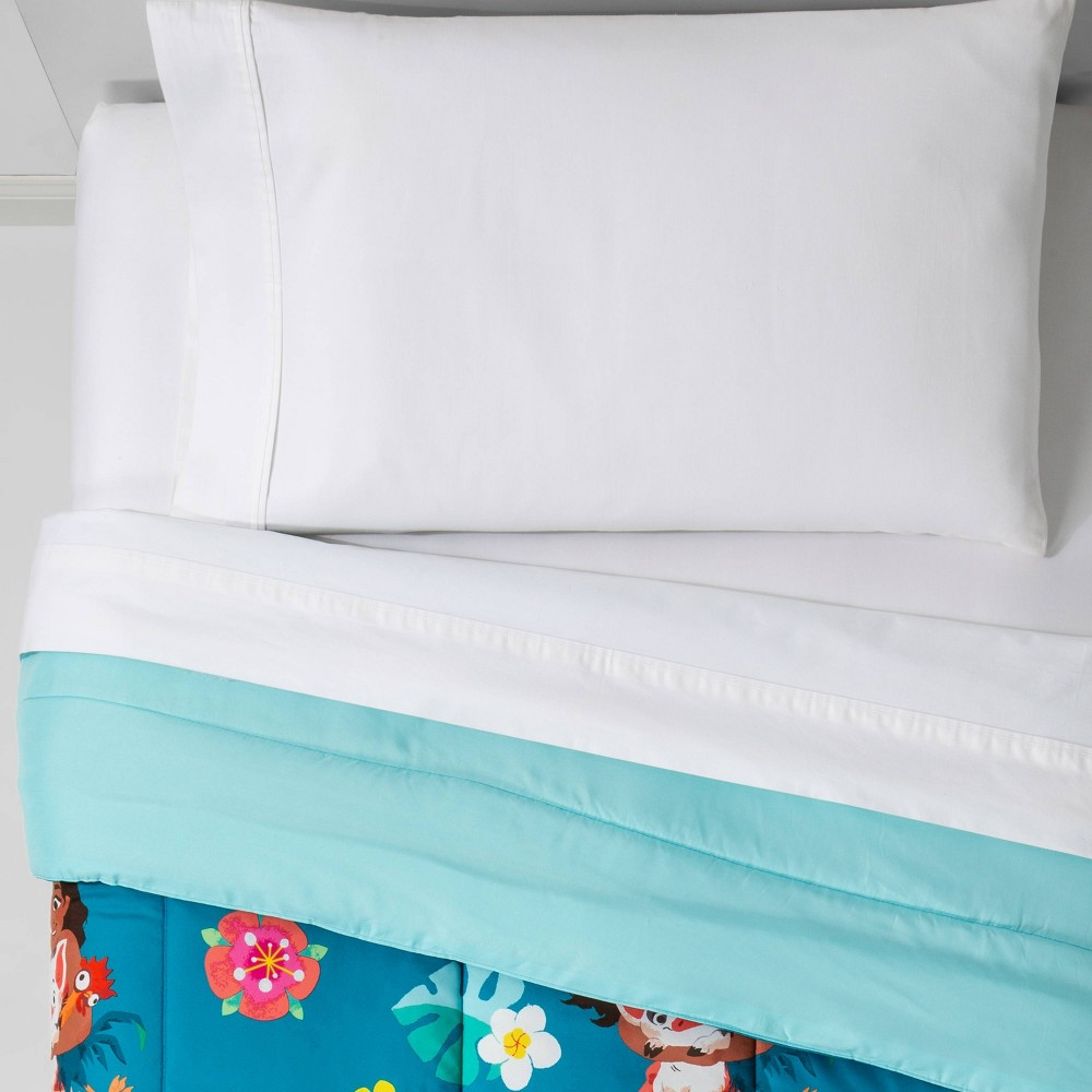 Image of Moana Twin Flower Power Comforter Blue