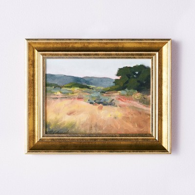 """11"""" x 14"""" Landscape Framed Wall Canvas - Threshold™ designed with Studio McGee"""
