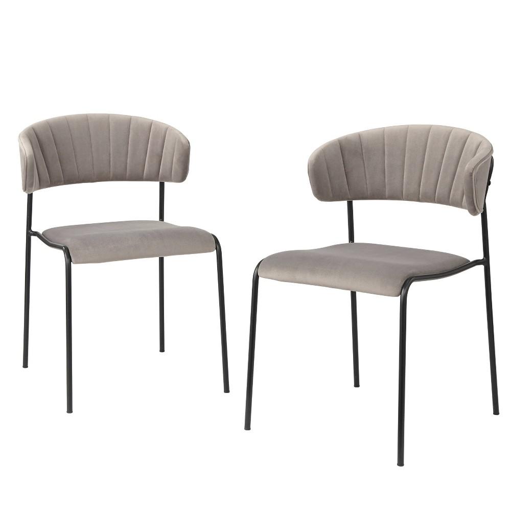 Image of Kalmar Dining Chair Gray - Angelo Home