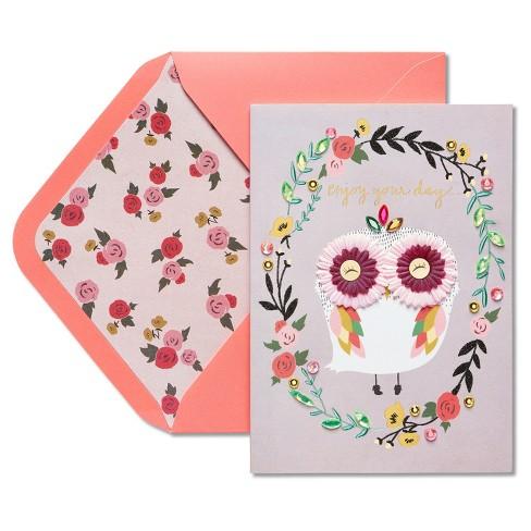 Papyrus owl birthday card target papyrus owl birthday card m4hsunfo