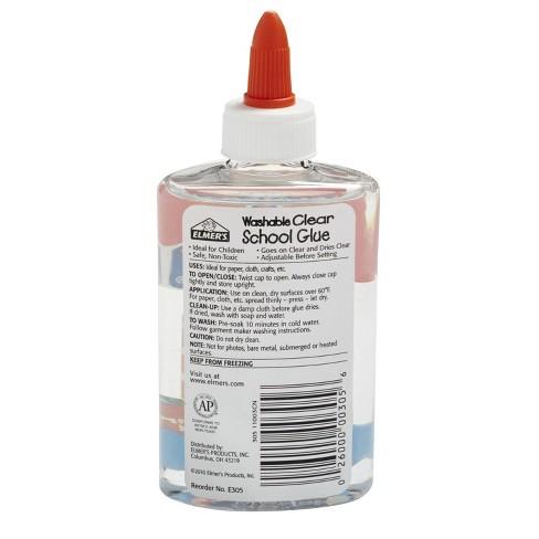 Elmers Clear Washable School Glue - 4 pk.