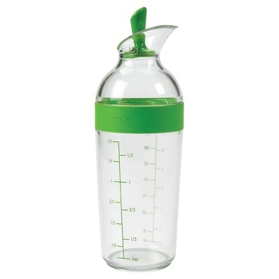 OXO Salad Dressing Shaker Green