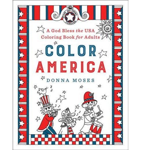 Color America (Paperback) (Donna Moses) - image 1 of 1