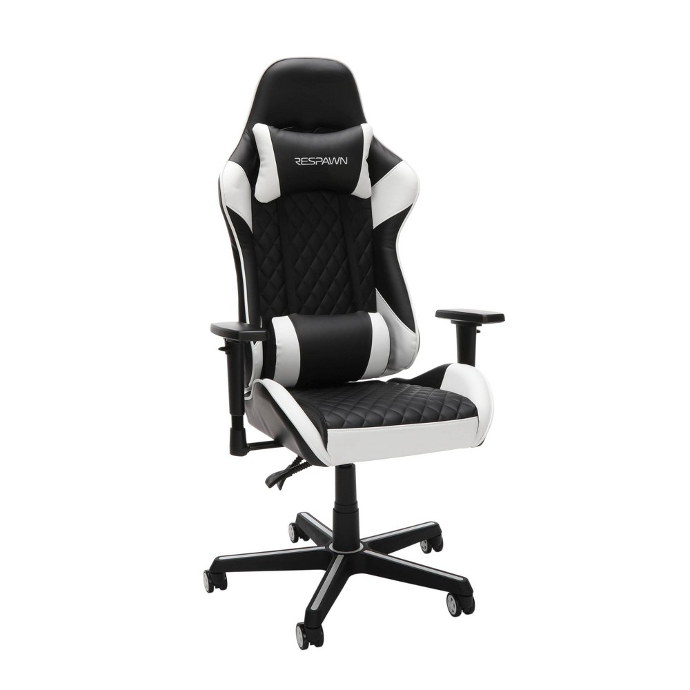 Image of 100 Racing Style Gaming Chair White - RESPAWN