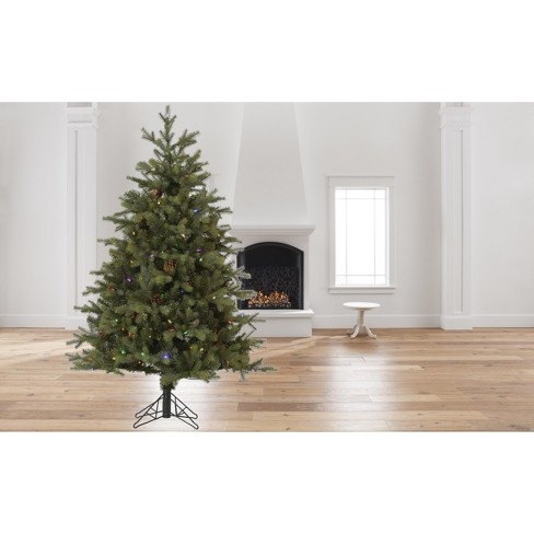 6d510064332e 12ft Rocky Mountain Fir LED Instant Artificial Christmas Tree Full   Target