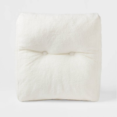Sherpa Wedge Bed Rest Pillow - Room Essentials™