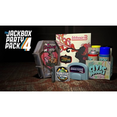 The Jackbox Party Pack 4 - Nintendo Switch (Digital)