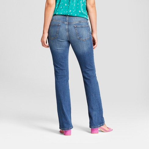 8ac3cf83466 Maternity Crossover Panel Bootcut Jeans - Isabel Maternity By Ingrid    Isabel™ Dark Wash   Target