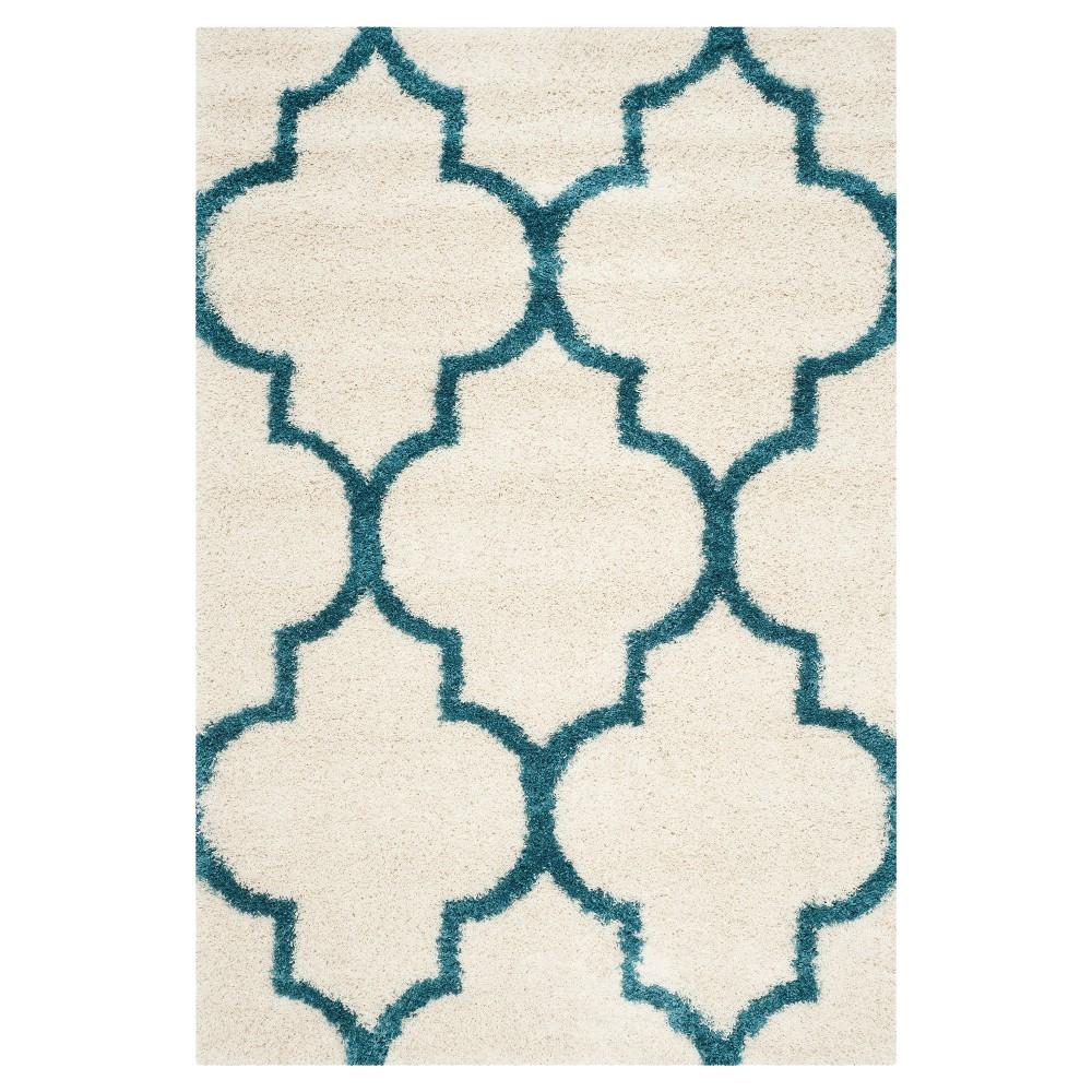 Jaxon Area Rug - Ivory/Blue (5'3