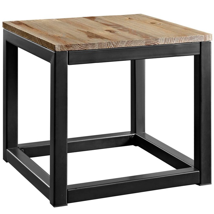 Attune Side Table Brown - Modway - image 1 of 4