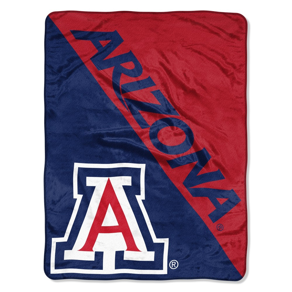 NCAA Arizona Wildcats Micro Fleece Throw Blanket