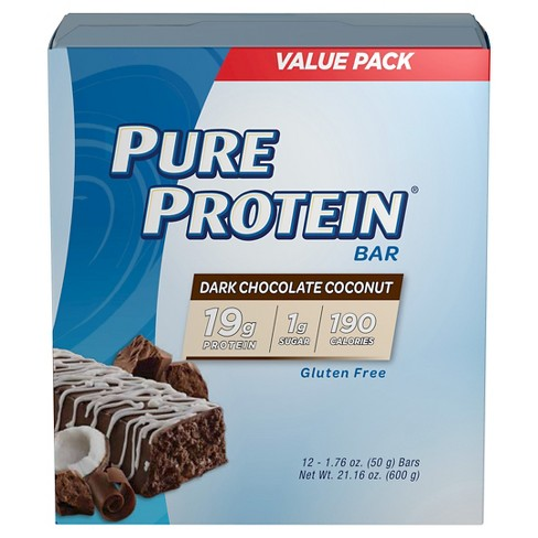 Pure Protein Bar - Dark Chocolate Coconut - 12ct - image 1 of 1