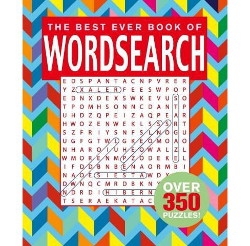 Best Ever Book of Word Search (Paperback) - image 1 of 1