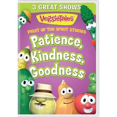 Veggie Tales: Fruit Of The Spirit Stories Volume 2 Patience, Kindness, Goodness (DVD)(2021)