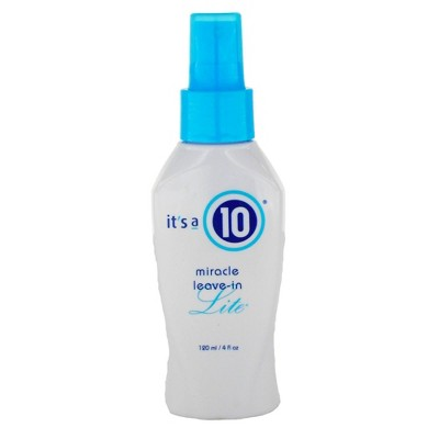 It's a 10 Miracle Volume Leave In Lite Spray - 4 fl oz