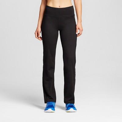 540d01dce92e Women s Everyday Mid-Rise Curvy Fit Pants - C9 Champion® Black   Target