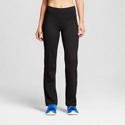 Women's Everyday Mid-Rise Curvy Fit Pants - C9 Champion® Black
