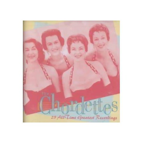 Chordettes - 25 All Time Greatest Hits (CD) - image 1 of 3