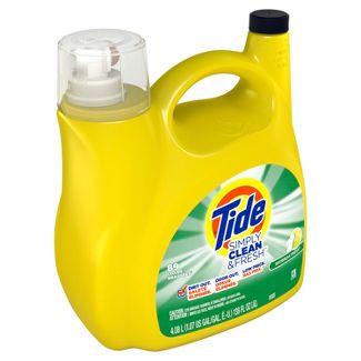Tide Simply Clean & Fresh Daybreak Fresh Liquid Laundry Detergent - 138 fl oz