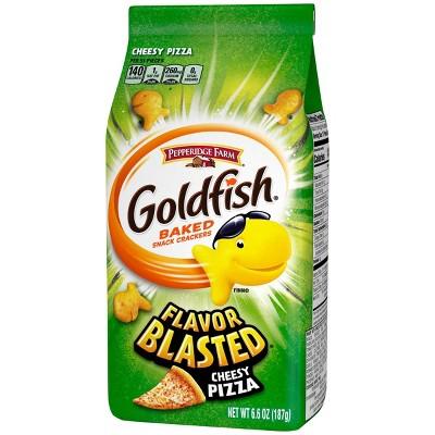 Pepperidge Farm Goldfish Flavor Blasted Xplosive Pizza Crackers - 6.6oz Bag