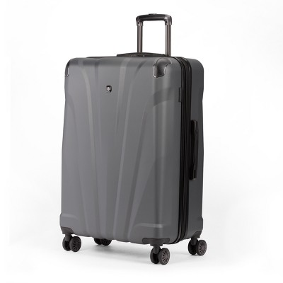 SWISSGEAR 28  Hardside Suitcase - Dark Gray