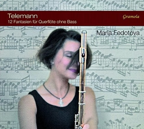 Maria Fedotova - Telemann:Twelve Fantasias For Flute (CD) - image 1 of 1