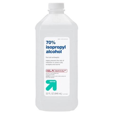 Isopropyl 70% Alcohol Antiseptic - 32oz - Up&Up™ - image 1 of 3