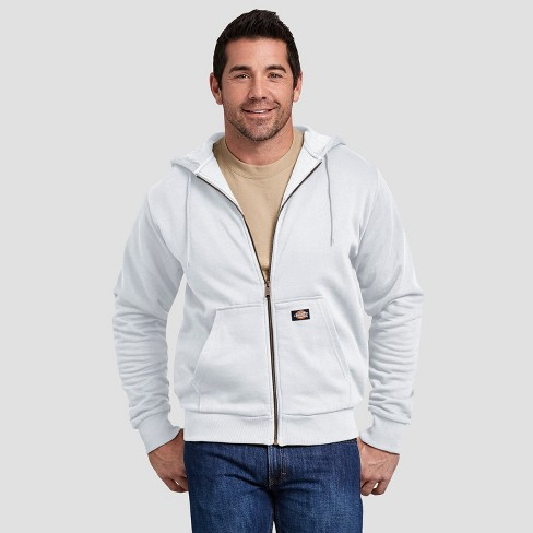 brand quality price 2019 authentic Dickies Men's Thermal Lined Fleece Hoodie- White M