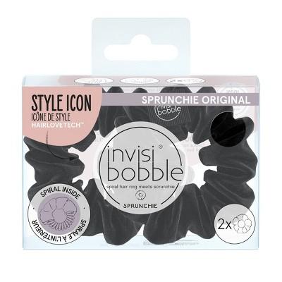 invisibobble Sprunchie - True Black - 2pk