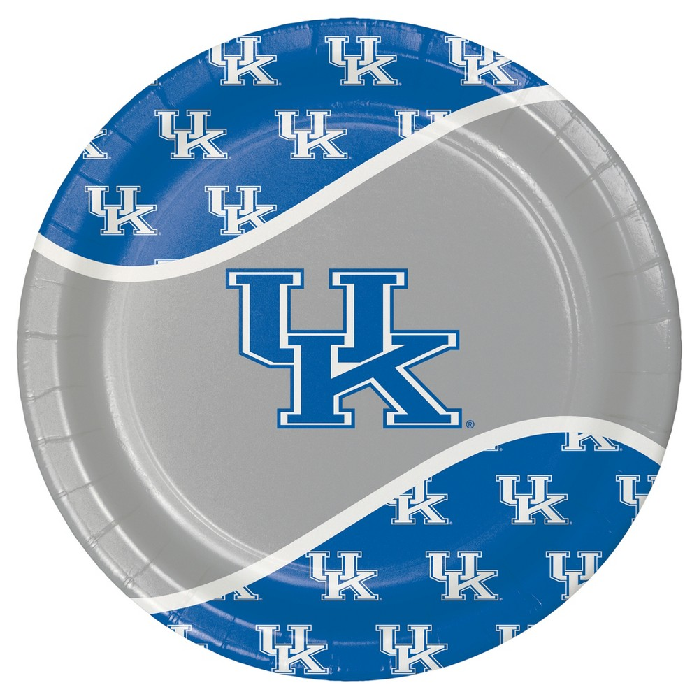 University Of Kentucky 9 Paper Plates 8ct