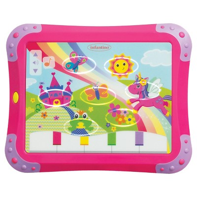 Infantino Sparkle Lights & Sounds Musical Touch Pad