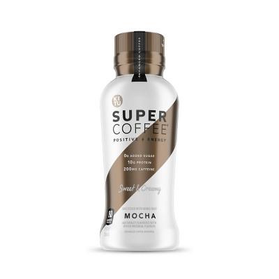 Kitu Super Coffee Mocha - 12 fl oz Bottle