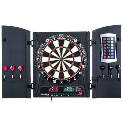 Arachnid E-Bristle Cricket Maxx 3.0 Electronic Dartboard Cabinet Set