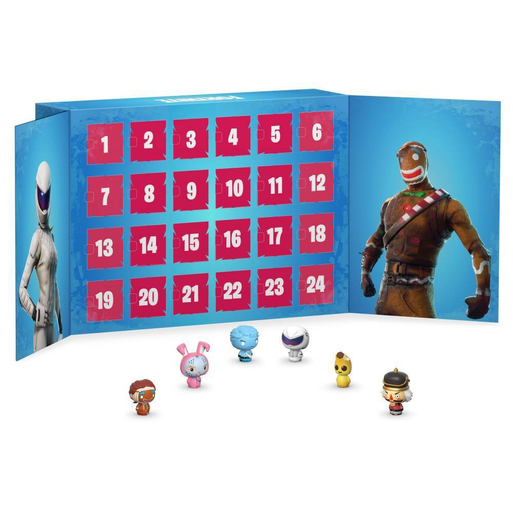 Image of Funko Pint Size Heroes Advent Calendar: Fortnite - 24pc