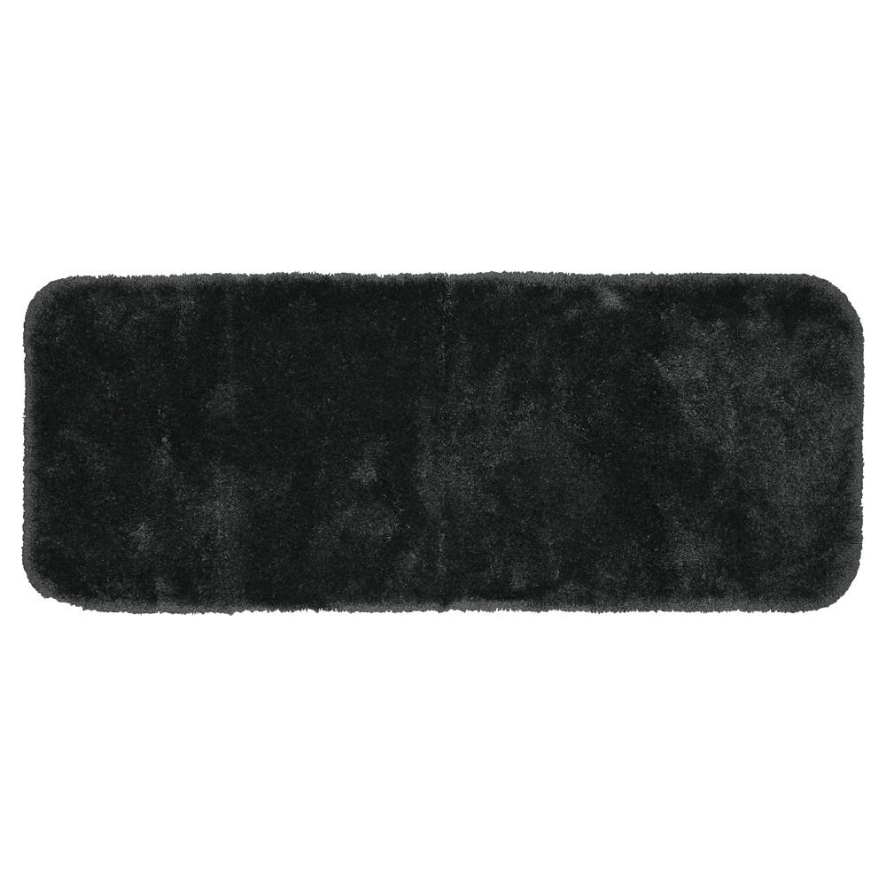 Garland Finest Luxury Ultra Plush Washable Nylon Bath Runner - Dark Gray (22x60)