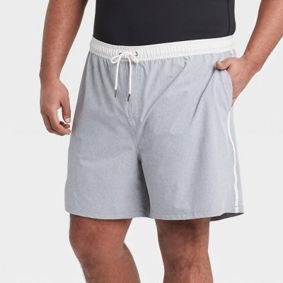 "Men's Big & Tall 7"" Swim Trunks - Goodfellow & Co™ Gray"