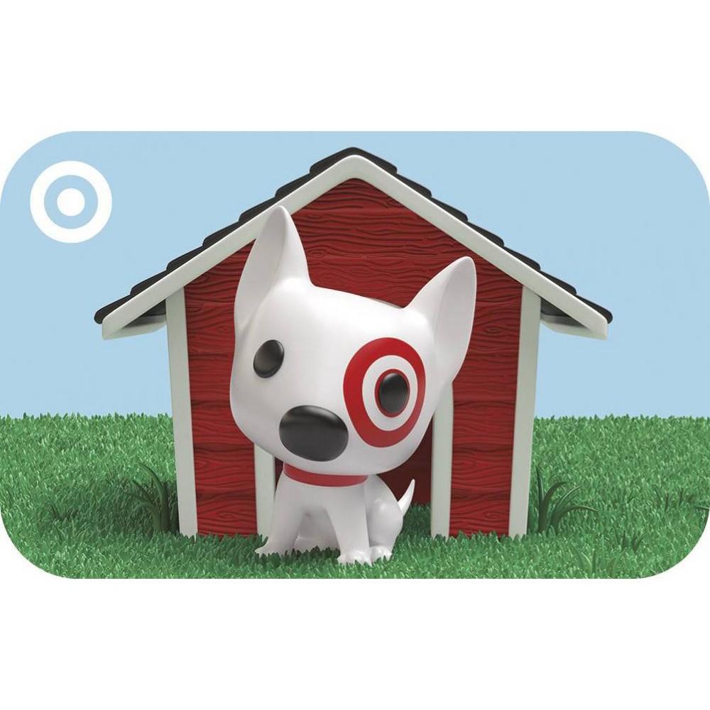Funko Bullseye Target Giftcard Funko Bullseye Target Giftcard