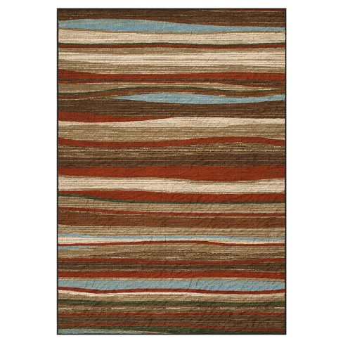 Branson Waves Woven Rug - image 1 of 3