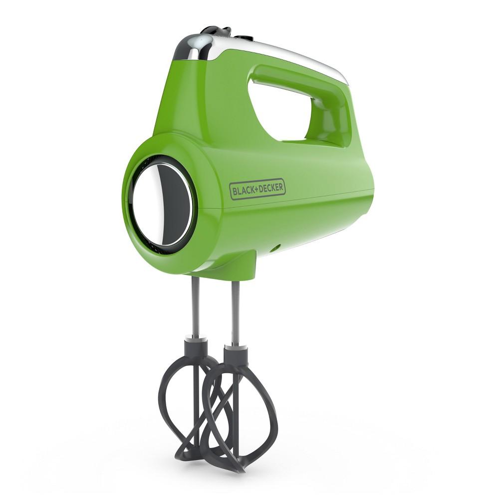 Image of Black+decker Helix Hand Mixer - Green MX600L