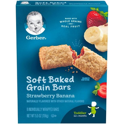 Baby & Toddler Snacks: Gerber Soft-Baked Grain Bars