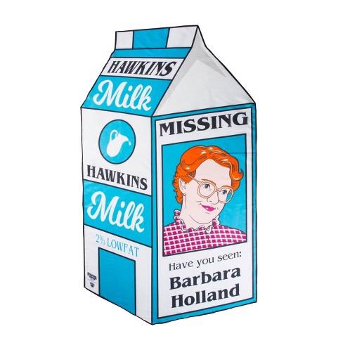 BigMouth Inc.Stranger Things Missing Milk Carton Beach Blanket - image 1 of 2