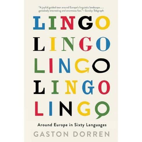 Lingo - by  Gaston Dorren (Paperback) - image 1 of 1