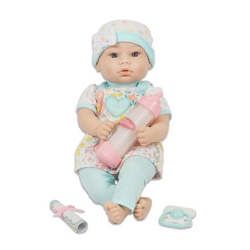 "Madame Alexander 14"" Small Wonders Sweet & Happy Baby Bedtime Assortment - image 1 of 4"