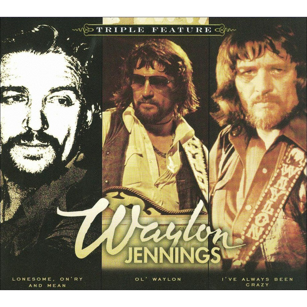 Waylon Jennings - Triple Feature:Waylon Jennings (CD)