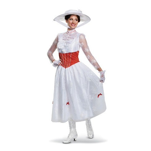 Women's Mary Poppins Deluxe Halloween Costume L - image 1 of 1
