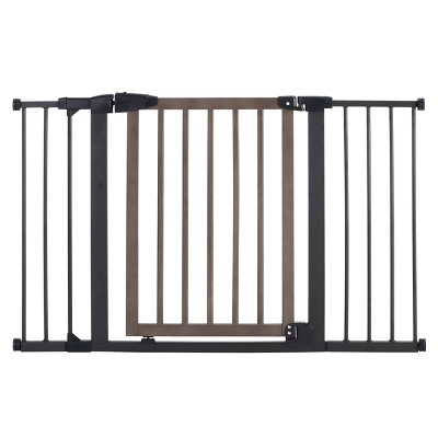 Toddleroo by North States Driftwood Extra Wide Gate