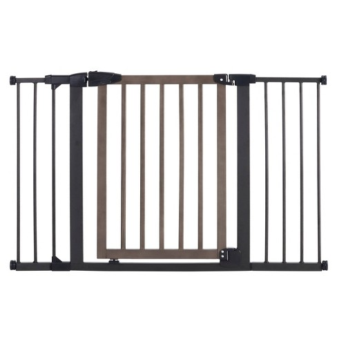 Toddleroo by North States Driftwood Extra Wide Gate - image 1 of 4