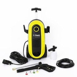 Power Products USA 1.76 GPM 14.5 Amp 2200 PSI Electric Pressure Washer, Yellow