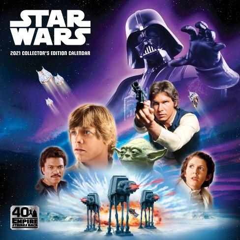 Star Wars 2021 Calendar 2021 Collector's Edition Wall Calendar 12